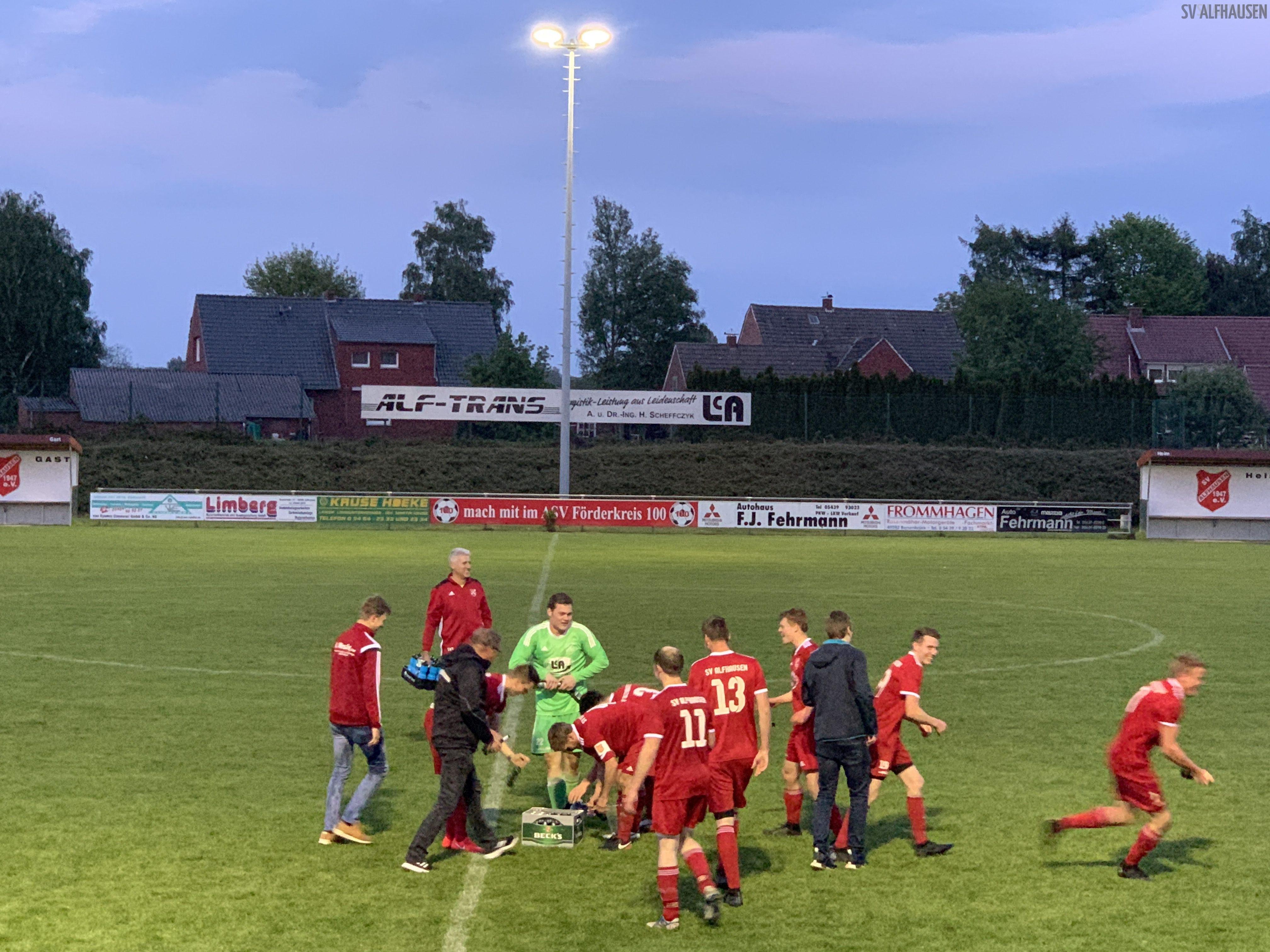 Aufstiegsspiel SV Alfhausen