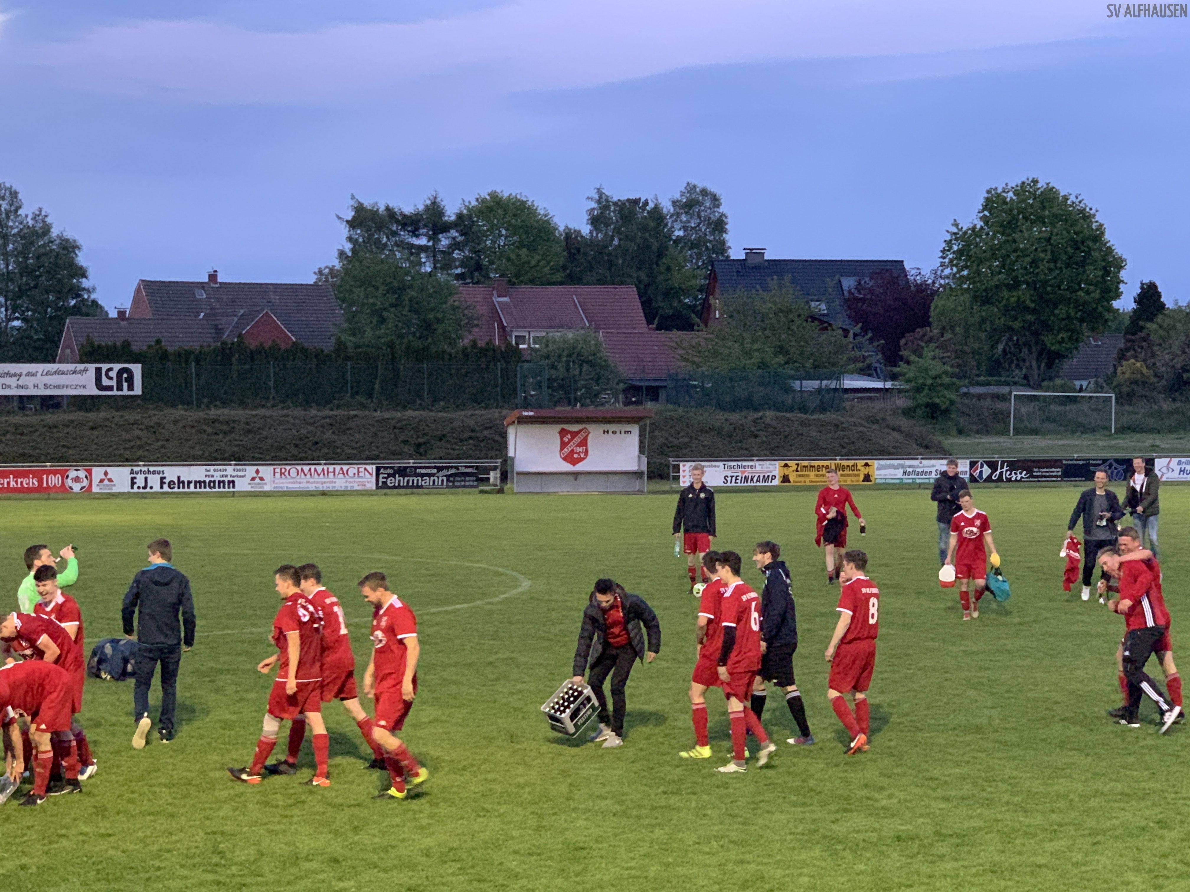 Aufsteigsspiel SV Alfhausen 2019