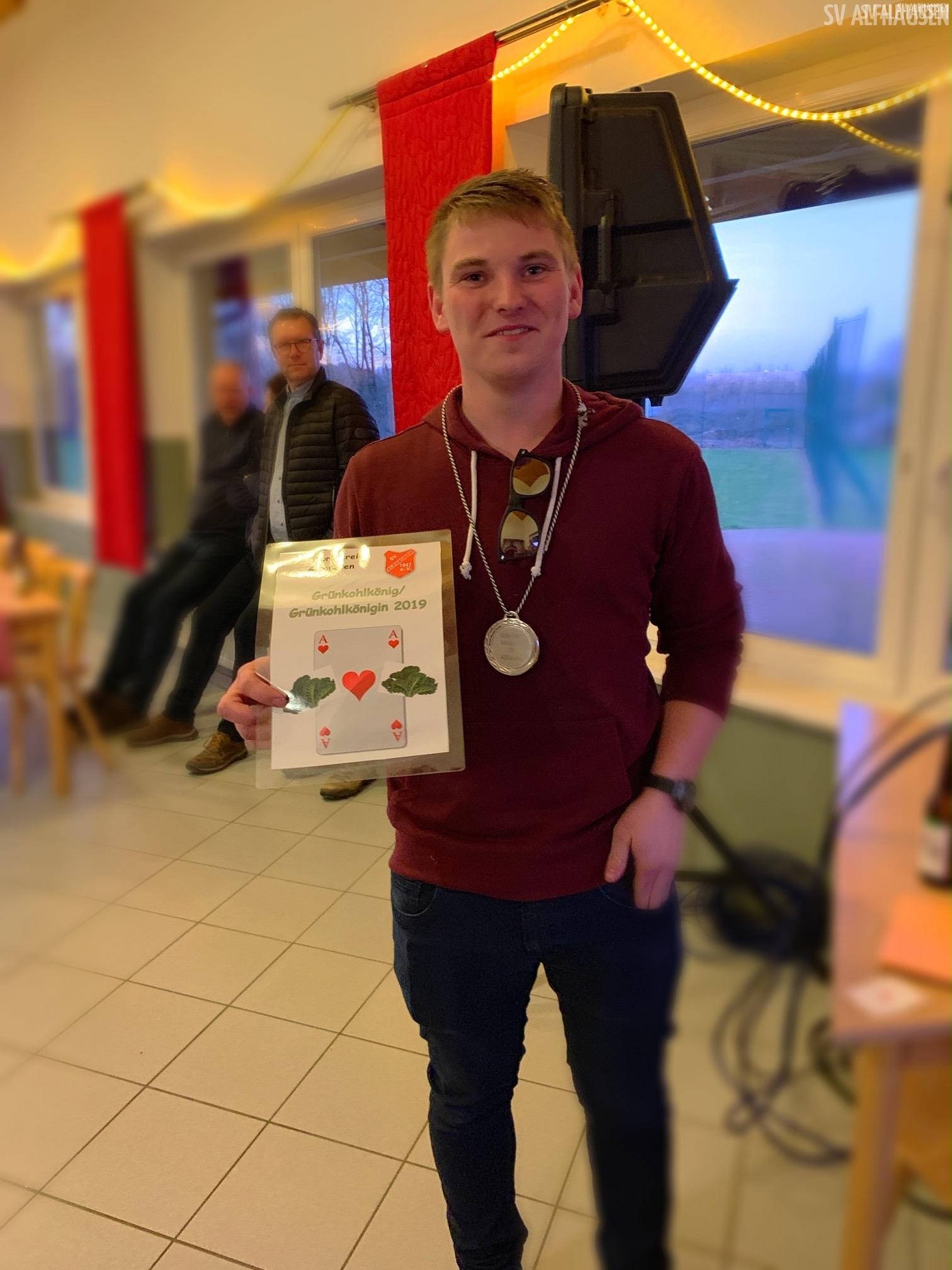 Kohlkönig 2019 Lars