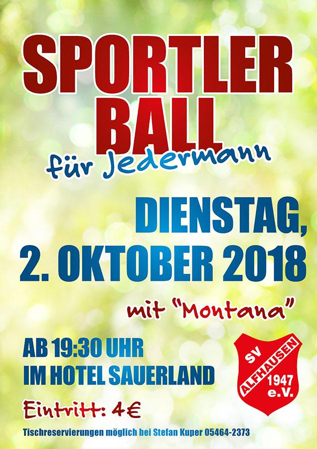 Sportlerball @ Hotel Sauerland